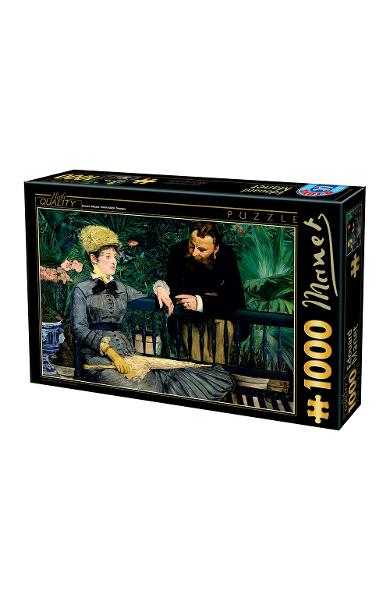 Puzzle 1000 Edouard Manet: In the Conservatory