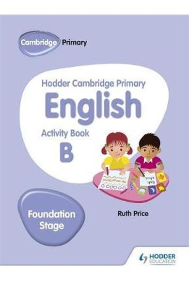 Hodder Cambridge Primary English Activity Book B Foundation
