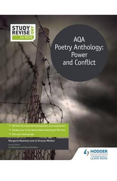 Study and Revise: AQA Poetry Anthology: Power and Conflict f