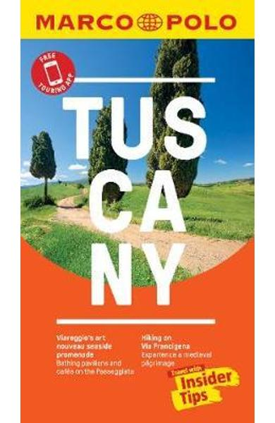Tuscany Marco Polo Pocket Travel Guide 2019 - with pull out