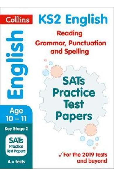 KS2 English Reading, Grammar, Punctuation and Spelling SATs