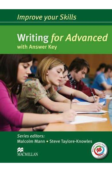 Improve your Skills: Writing for Advanced Student's Book wit