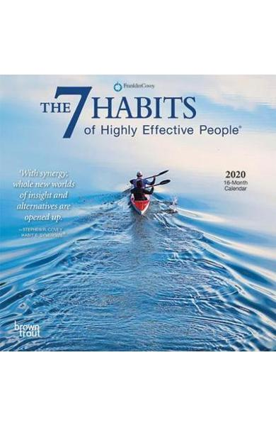 7 Habits of Highly Effective People, the 2020 Mini Wall Cale -