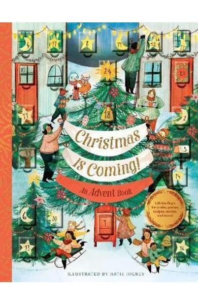 Christmas Is Coming! An Advent Book -