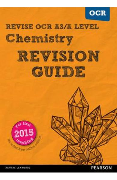 REVISE OCR AS/A Level Chemistry Revision Guide (with online