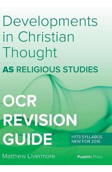 As Developments in Christian Thought