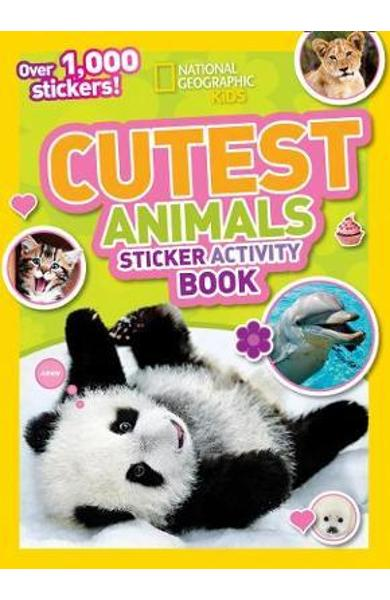 Cutest Animals Sticker Activity Book