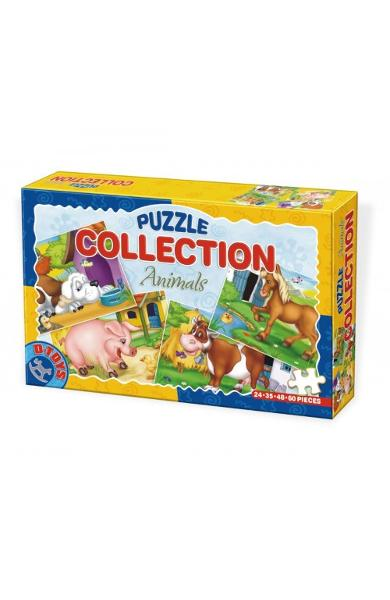 Puzzle collection, Animals. Animale
