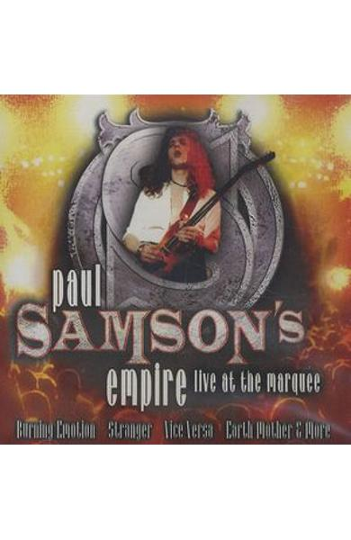 CD Paul Samson's Empire - Live At The Marquee