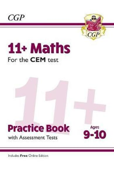New 11+ CEM Maths Practice Book & Assessment Tests - Ages 9-