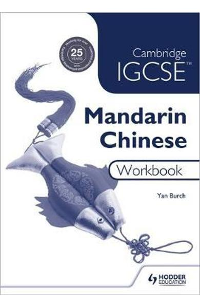 Cambridge IGCSE Mandarin Chinese Workbook