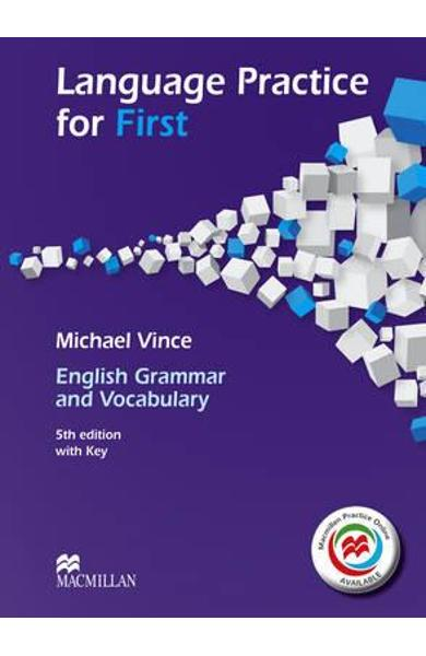 Language Practice for First 5th Edition Student's Book and M