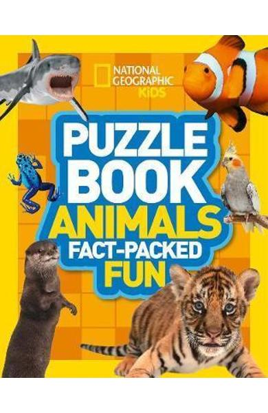 Puzzle Book Animals