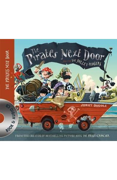 Pirates Next Door Book & CD