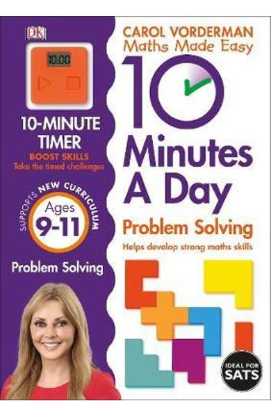 10 Minutes a Day Problem Solving Ages 9-11 Key Stage 2