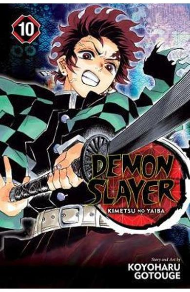 Demon Slayer: Kimetsu no Yaiba, Vol. 10 - Koyoharu Gotouge