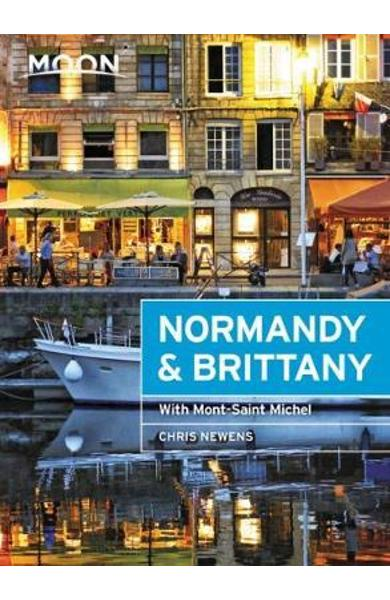 Moon Normandy & Brittany (First Edition) - Chris Newens