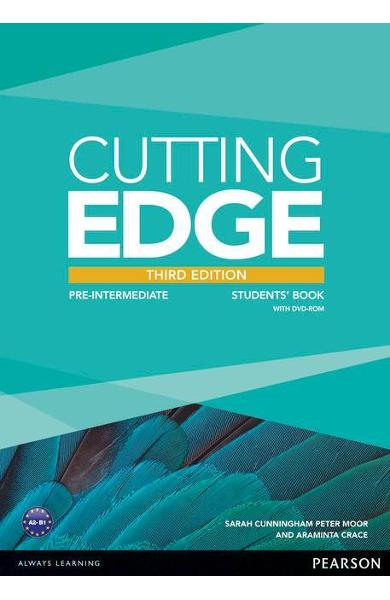 Cutting Edge 3rd Edition Pre-Intermediate Students' Book and - Araminta Crace