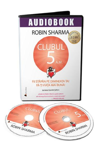 Audiobook. Clubul 5 a.m. - Robin Sharma