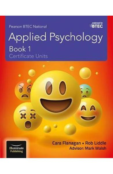 Pearson BTEC National Applied Psychology: Book 1 -