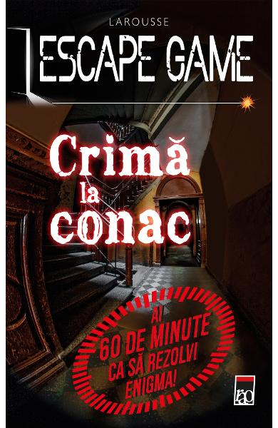 Escape game. Crima la conac - Nicolas Trenti