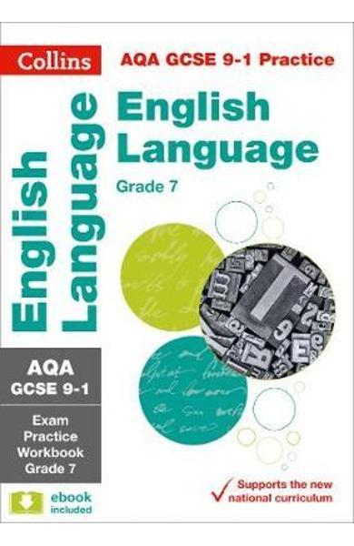 AQA GCSE 9-1 English Language Exam Practice Workbook for gra