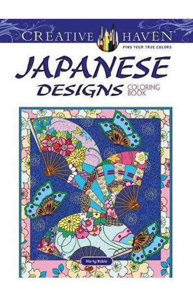 Creative Haven Japanese Designs Coloring Book
