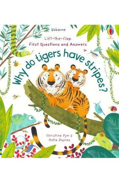 Why Do Tigers Have Stripes? - Katie Daynes