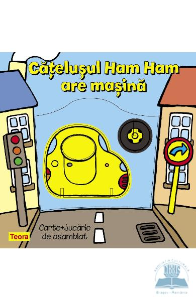 Catelusul Ham Ham are masina
