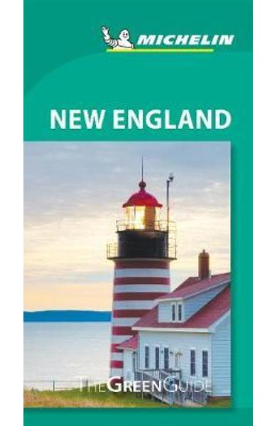 Michelin Green Guide New England (Travel Guide)