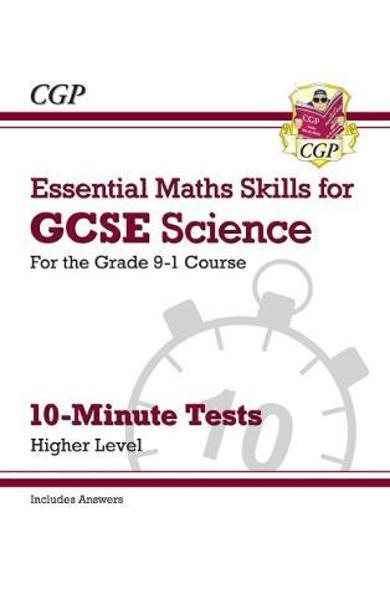 New Grade 9-1 GCSE Science: Essential Maths Skills 10-Minute
