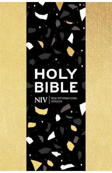 NIV Pocket Gold Soft-tone Bible with Zip -