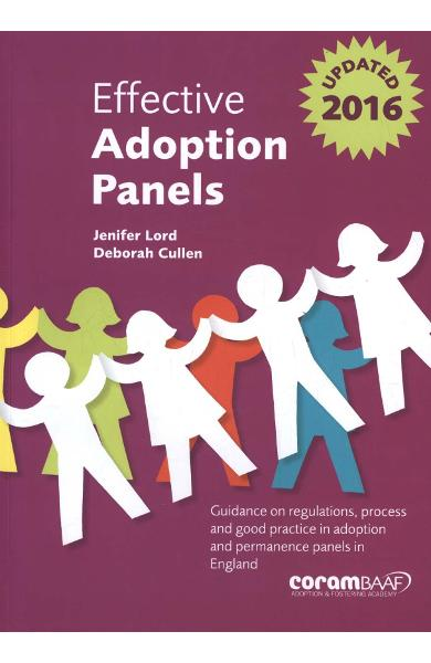 Effective Adoption Panels - Jenifer Lord
