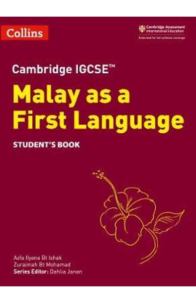 Cambridge IGCSE (TM) Malay as a First Language Student's Boo -