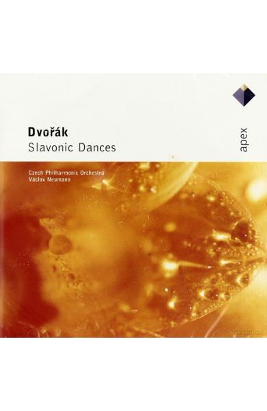 CD Dvorak - Slavonic dances - Czech Philharmonic Orchestra