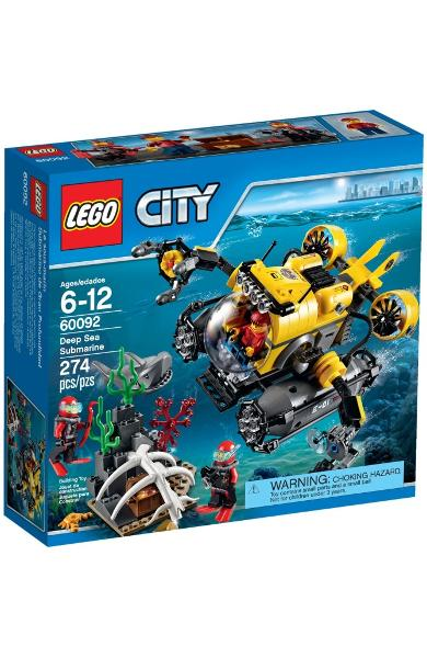 Lego City Submarin 6-12 ani (60092)