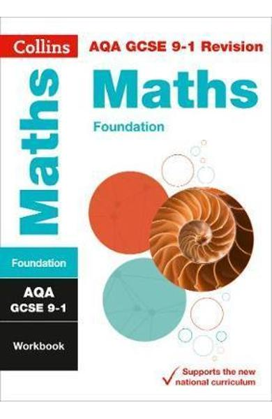 AQA GCSE 9-1 Maths Foundation Workbook