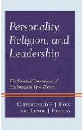 Personality, Religion, and Leadership - Christopher Ross