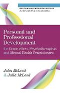 Personal and Professional Development for Counsellors, Psych