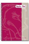 Dodo Pad A5 Diary 2019 - Calendar Year Week to View Diary (S