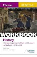Edexcel GCSE (9-1) History Workbook: Crime and Punishment in