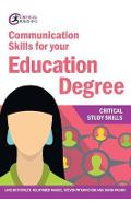 Communication Skills for your Education Degree - Jane Bottomley