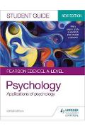 Pearson Edexcel A-level Psychology Student Guide 2: Applicat - Christine Brain