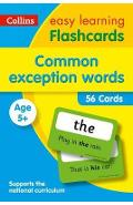 Common Exception Words Flashcards -
