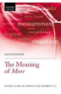 Meaning of More - Alexis Wellwood