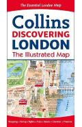 Discovering London Illustrated Map -
