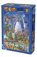 Puzzle 1000. Cartoon Collection: Emirate
