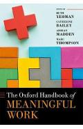 Oxford Handbook of Meaningful Work