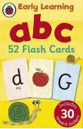 Ladybird Early Learning: ABC flash cards -