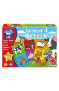 Joc educativ domino Ferma - Farmyard Dominoes